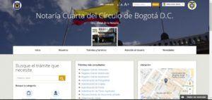 Notaria cuarta de Bogotá