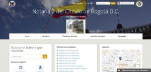 Notaria Dos de Bogotá