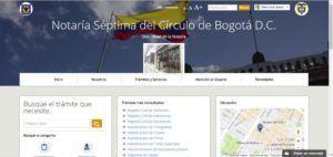 Notaria Séptima de Bogotá