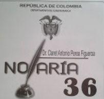 Notaria 36 de Bogotá