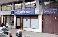 Notaria 50 de Bogotá